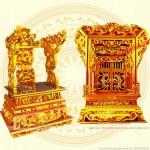 101 mẫu Ngai thờ – Khám thờ – Ỷ thờ đẹp long lanh