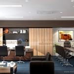 Phương án thiết kế nội thất văn phòng công ty Bạch Đằng 6 ở Lê Chân, Hải Phòng