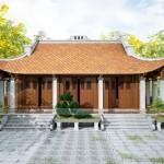 Thiết kế nhà thờ họ 3 gian 4 mái ở Nho Quan – Ninh Bình