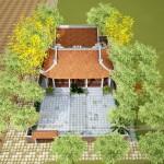 Thiết kế nhà dòng họ 4 mái tại Đông Hưng – Thái Bình