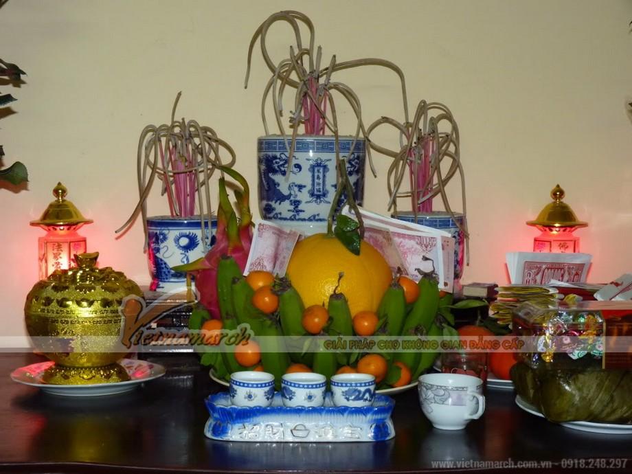Cách đặt bát hương trên bàn thờ gia tiên đúng phong thủy