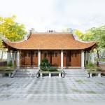 Thiết kế nhà từ đường họ 3 gian 4 mái ở Nho Quan – Ninh Bình