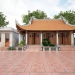 Tư vấn thiết kế nhà thờ họ 3 gian 4 mái cho nhà bác An tại Thái Bình