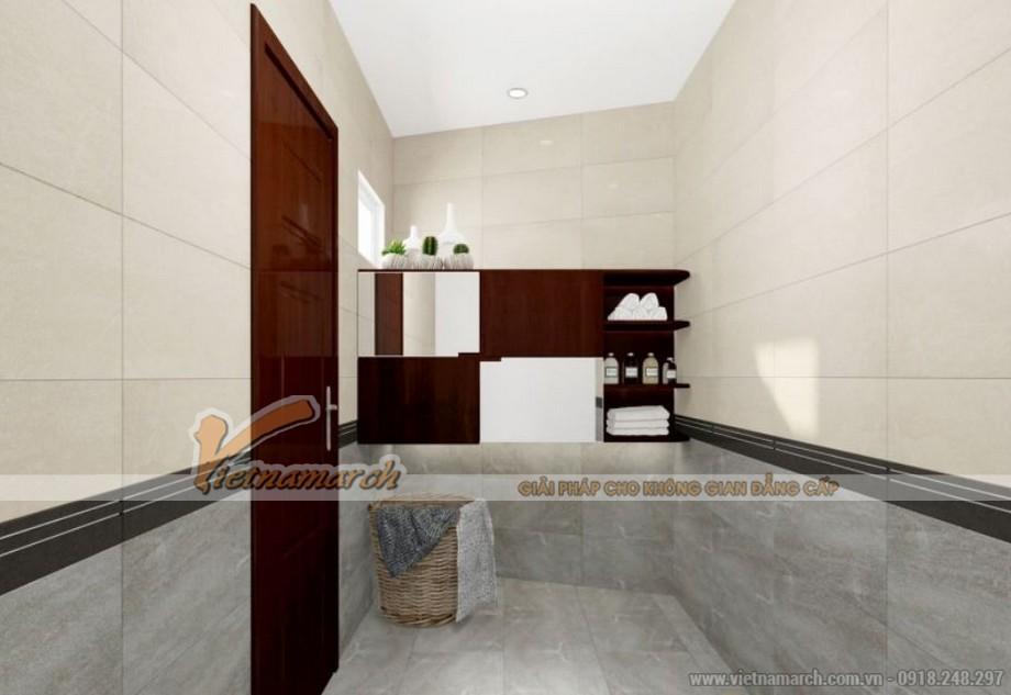 Nội thất phòng tắm căn 01 tòa sapphire 2 goldmark City