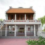 Mẫu thiết kế nhà thờ họ 2 tầng ở Thái Bình