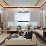 Thiết kế nội thất hiện đại căn hộ 06- 07- 14- 15 tòa Ruby 3 Goldmark City
