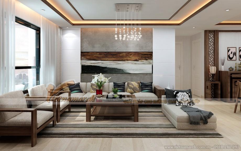 Thiết kế nội thất hiện đại căn hộ 06- 07- 14- 15 tòa Ruby 3 Goldmark City-03