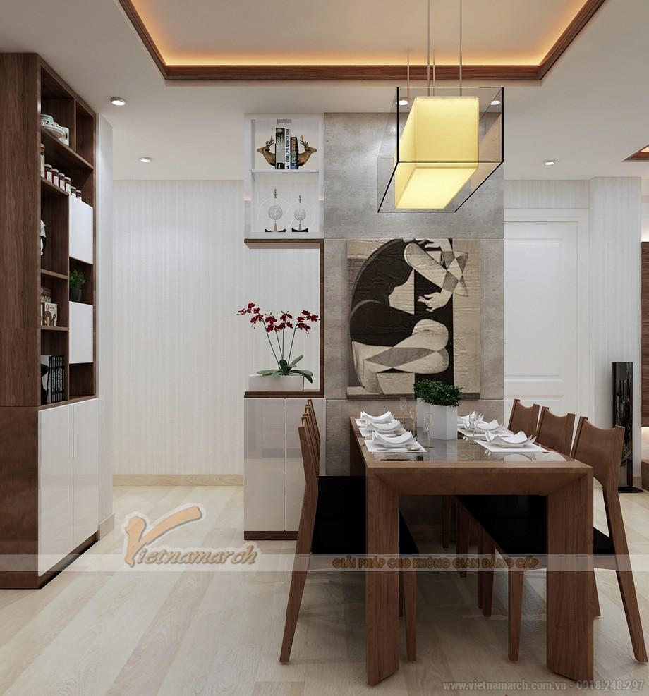 Thiết kế nội thất phòng ăn ấm cúng
