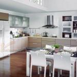 Tư vấn thiết kế nội thất hiện đại cho phòng bếp căn hộ Vinhomes Skylake