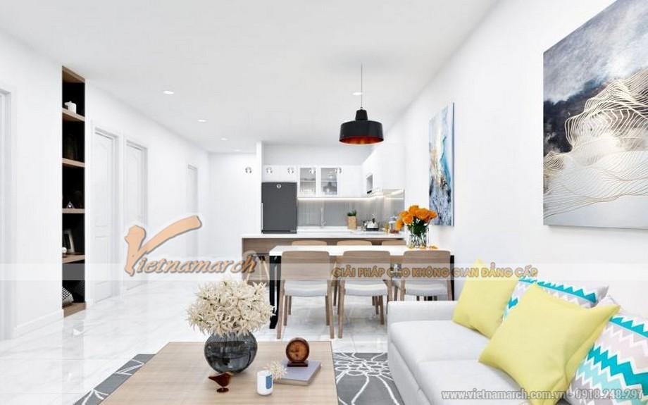 Thiết kế nội thất căn hộ 01 tòa Sapphire 4