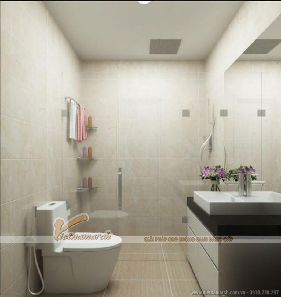 Nhà vệ sinh hiện đại căn hộ 01 tòa Sapphire 4