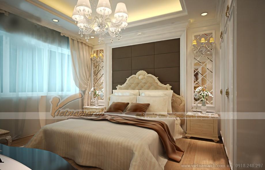 Nội thất phòng ngủ đẹp ấn tượng cho căn hộ tại Vinhomes Skylake
