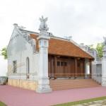 Phương án thiết kế nhà thờ tổ 3 gian 2 mái ở Thanh Hóa