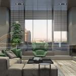 Phương án thiết kế nội thất không thể hiện đại hơn cho căn hộ Penthouse