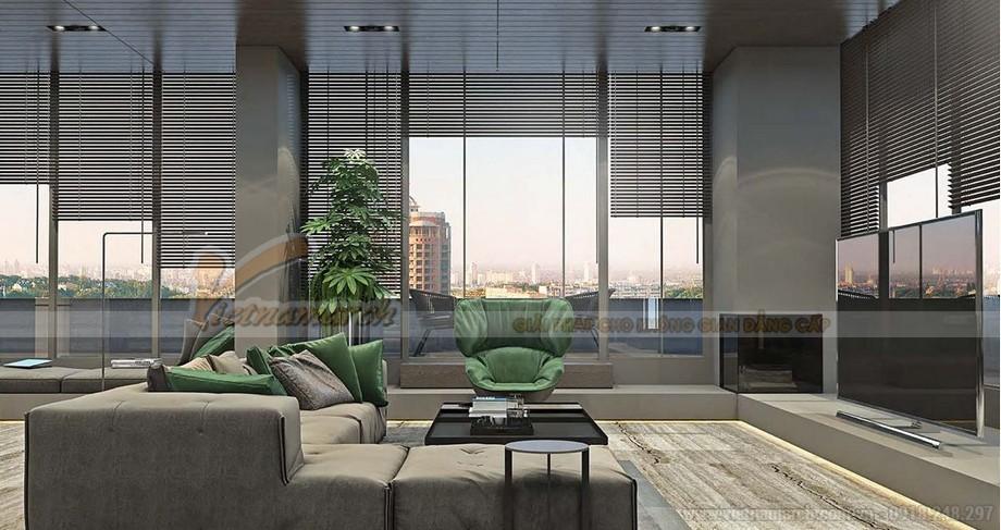 Phương án thiết kế nội thất Penthouse