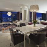 Thiết kế nội thất căn hộ 03 tòa Sapphire 2 Goldmark City phong cách châu Âu hiện đại