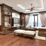 Thiết kế nội thất căn hộ 06 tòa Ruby 1 Goldmak City phong cách Á Đông