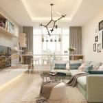 Thiết kế nội thất căn hộ 08 tòa Ruby 1 Goldmark City phong cách vintage