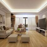 Phương án thiết kế nội thất căn hộ Ruby 03 Goldmark city hiện đại và lịch lãm