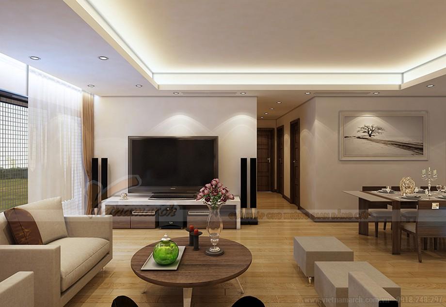 Thiết kế nội thất căn hộ Ruby 03 tòa chung cư Goldmark city-03