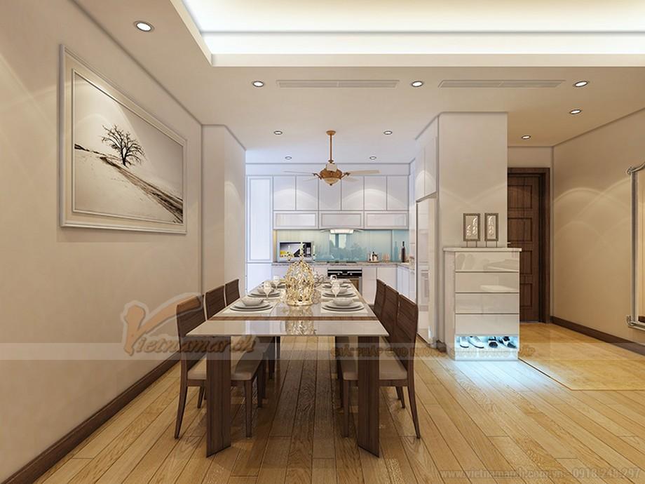Thiết kế nội thất căn hộ Ruby 03 tòa chung cư Goldmark city-05