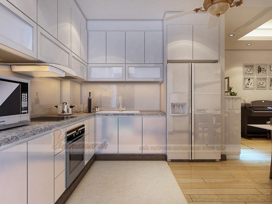 Thiết kế nội thất căn hộ Ruby 03 tòa chung cư Goldmark city-04