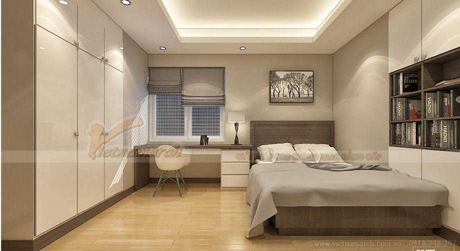 Thiết kế nội thất căn hộ Ruby 03 tòa chung cư Goldmark city-07