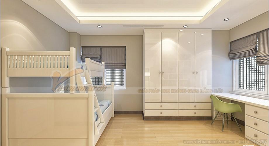 Thiết kế nội thất căn hộ Ruby 03 tòa chung cư Goldmark city-08