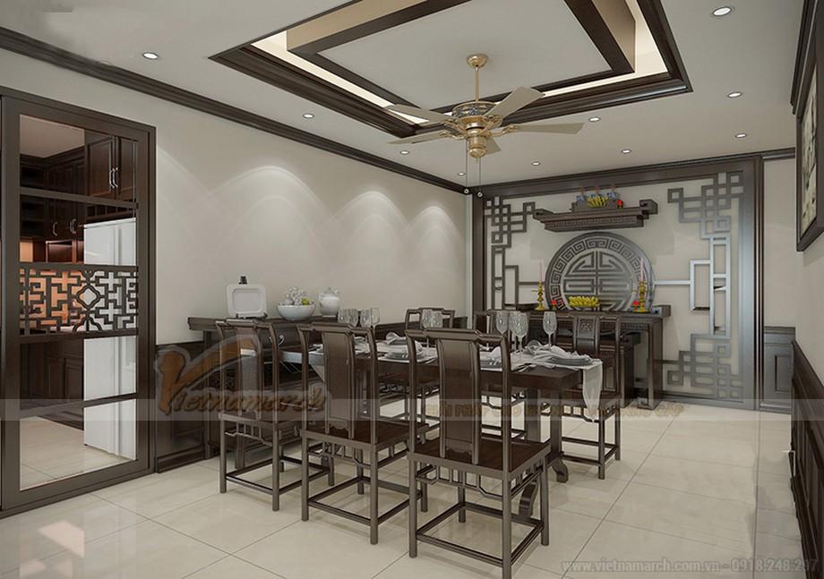 Thiết kế nội thất căn hộ 07 tòa Ruby 1 - nội thất phòng ăn