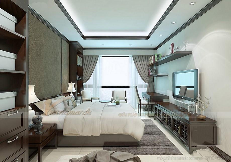 Thiết kế nội thất căn hộ 07 tòa Ruby 1 - nội thất phòng ngủ