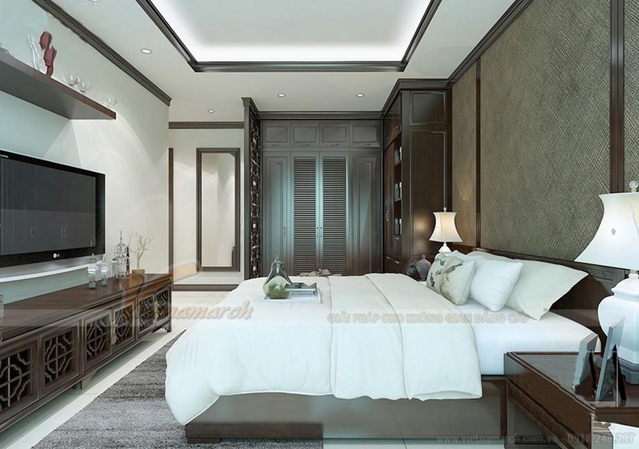 Thiết kế nội thất căn hộ 07 tòa Ruby 1 - nội thất phòng ngủ 02