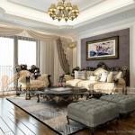 Thiết kế nội thất căn hộ 02 tòa Ruby 1 Goldmark City phong cách hoàng gia