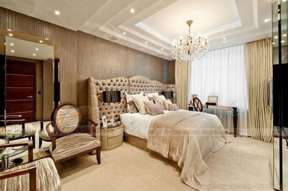 Phòng ngủ tại Vinhomes Skylake ấn tượng và sang trọng