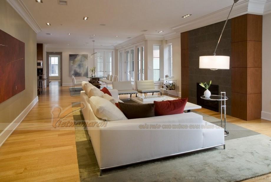 Thiết kế nội thất giúp không gian bừng sáng cho căn hộ 04-09 tòa Sapphire 1-02