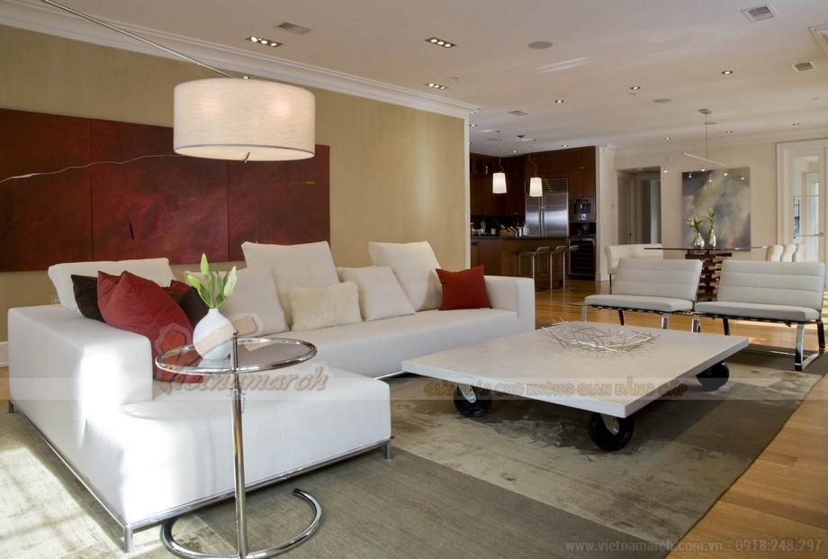 Thiết kế nội thất giúp không gian bừng sáng cho căn hộ 04-09 tòa Sapphire 1-03