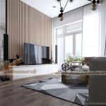 Thiết kế nội thất phong cách hiện đại căn hộ 08 Ruby 4 Goldmark City