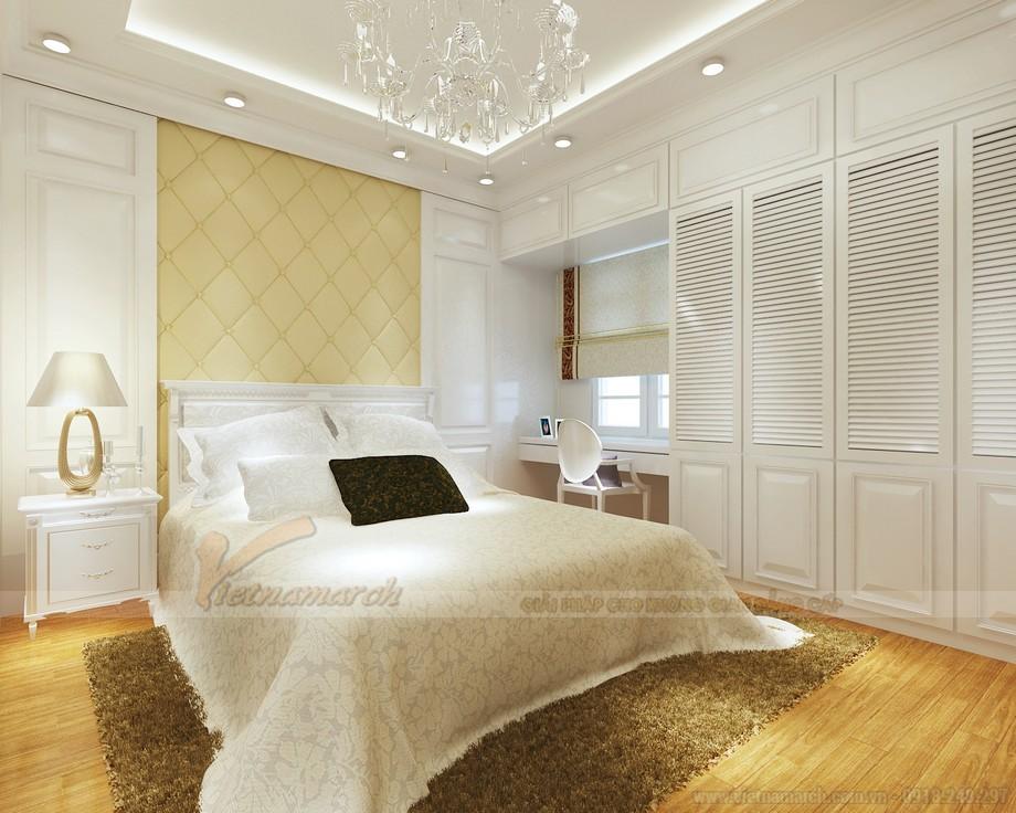 Thiết kế nội thất phong cách tân cổ điển cho căn hộ 01 tòa Sapphire 1-06