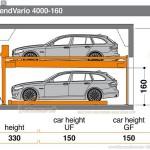Tìm hiểu hệ thống bãi đỗ xe bán tự động TrendVario 4000