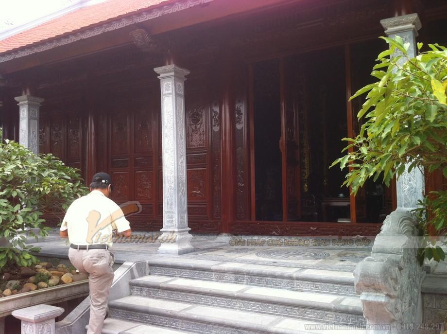 nhà thờ họ 4 mái được xây dựng tại Hải Dương