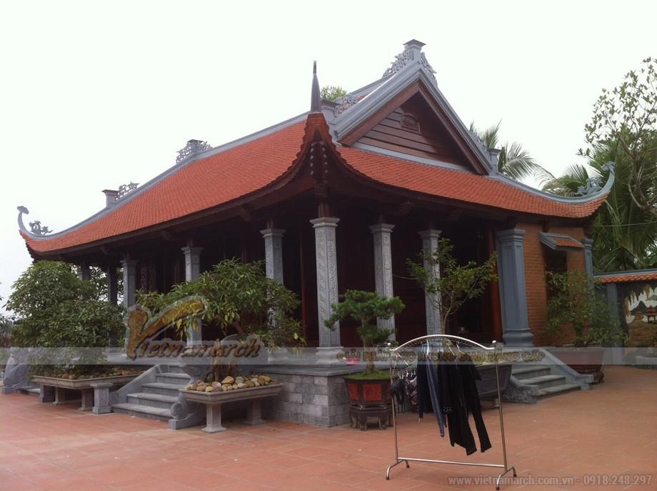 Nhà thờ họ 4 mái tại Hải Dương