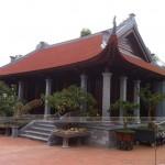 Nhà thờ 4 mái được thiết kế và xây dựng theo kết cấu nhà gỗ tại Hải Dương