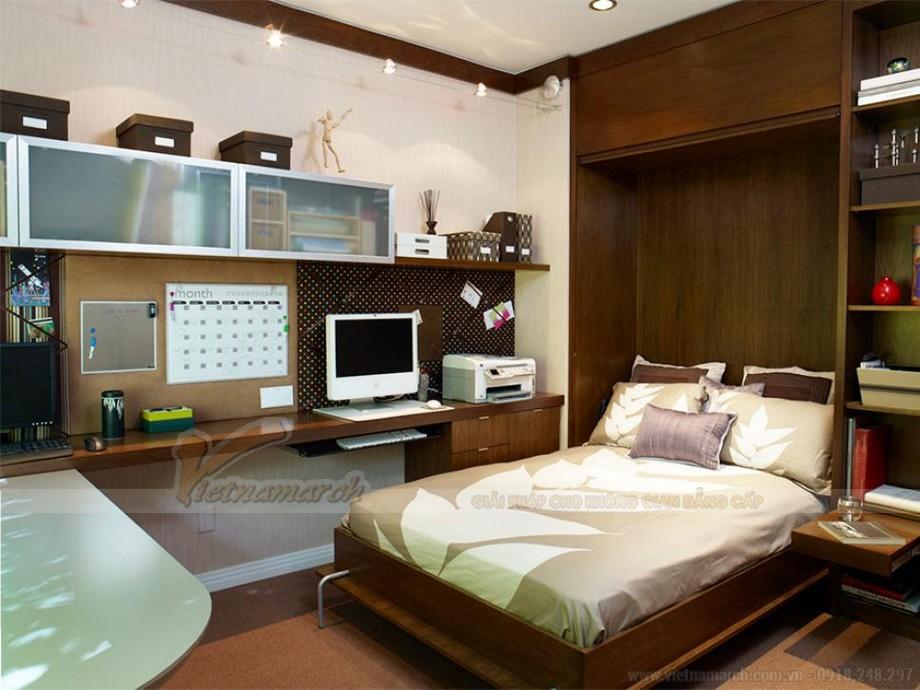 Thiết kế nội thất hiện đại đẹp lung linh cho căn hộ nhỏ chung cư Vinhomes Skylake-04