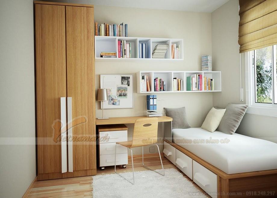 Thiết kế nội thất hiện đại đẹp lung linh cho căn hộ nhỏ chung cư Vinhomes Skylake-05