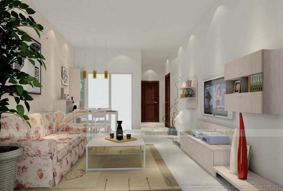 Thiết kế nội thất hiện đại đẹp lung linh cho căn hộ nhỏ chung cư Vinhomes Skylake-01