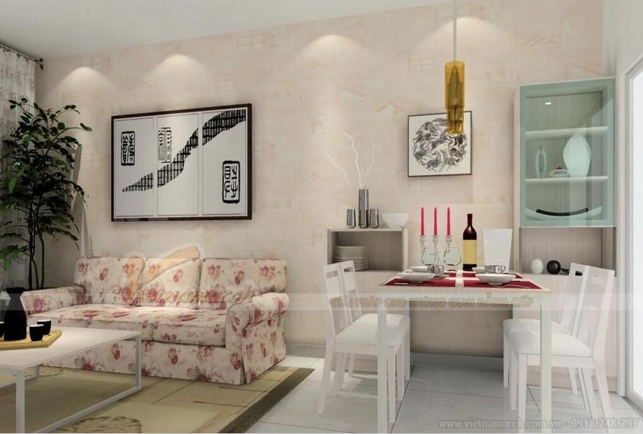 Thiết kế nội thất hiện đại đẹp lung linh cho căn hộ nhỏ chung cư Vinhomes Skylake-02