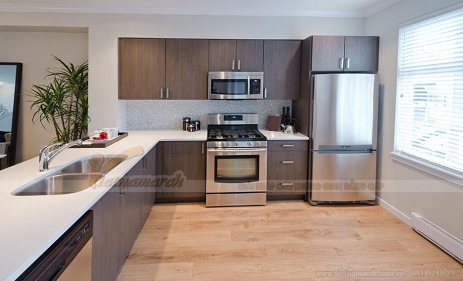 Thiết kế nội thất hiện đại đẹp lung linh cho căn hộ nhỏ chung cư Vinhomes Skylake-03