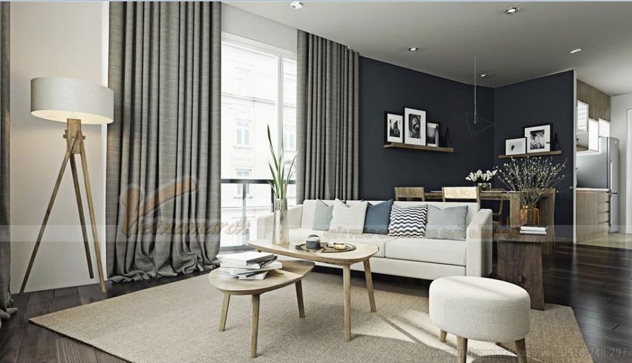 Thiết kế nội thất hiện đại sang trọng cho căn hộ Vinhomes Skylake-02