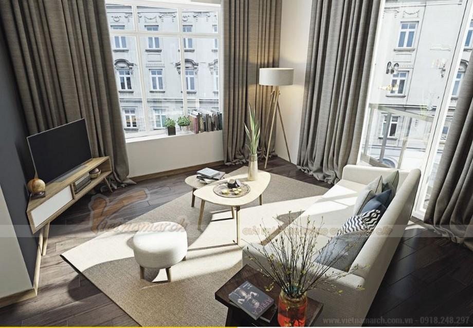 Thiết kế nội thất hiện đại sang trọng cho căn hộ Vinhomes Skylake-01