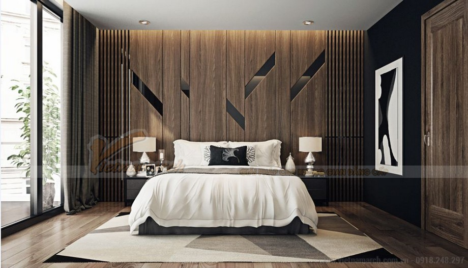 Thiết kế nội thất hiện đại sang trọng cho căn hộ Vinhomes Skylake-05