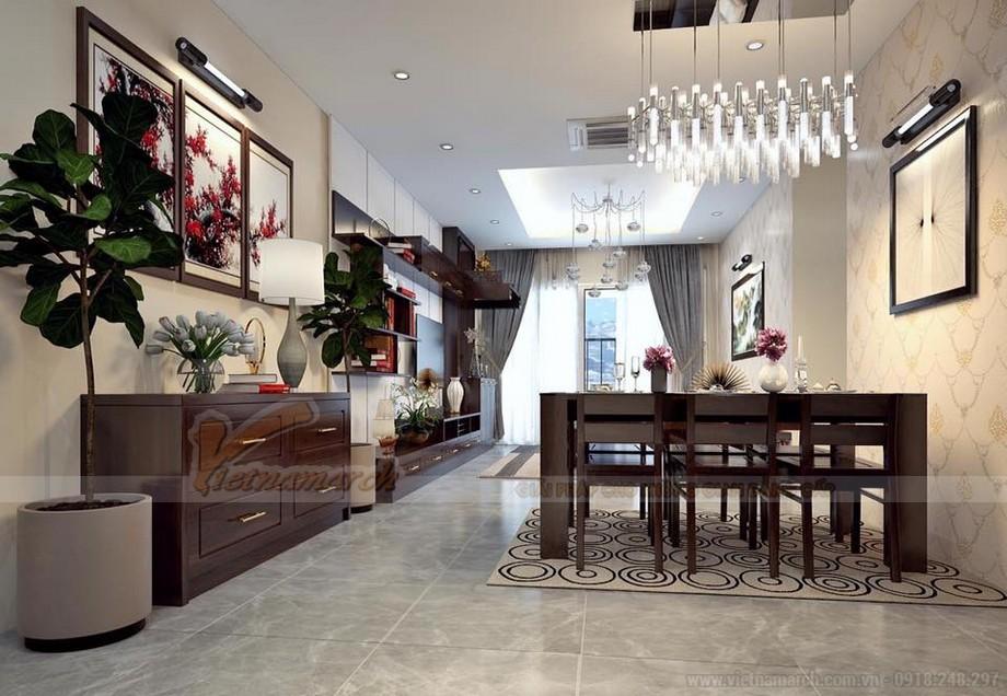 Phương án thiết kế nội thất hiện đại cho căn hộ Vinhome Skylake -04